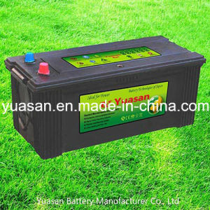 Yuasan 12V200ah Heavy Duty Sealed Lead Acid Mf Truck Battery-N200-Mf