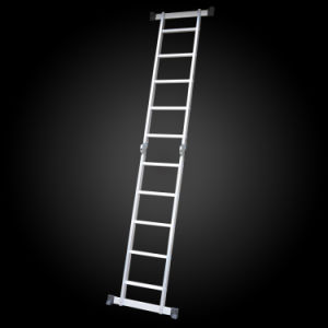 Superlight Folding Agility Multi-Purpose Aluminum Joint Ladder pictures & photos