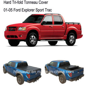 Tri-Fold Pickup Bed Covers for 01-05 Ford Explorer Sport Trac pictures & photos