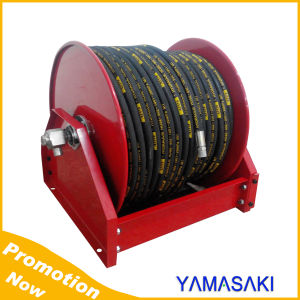 Motorized Driven Motor Rewinding Hose Reel pictures & photos