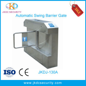 Factory Electronic Access Control Swing Barrier 304 Stainless Steel pictures & photos