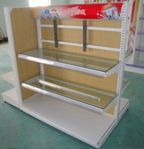 Supermarket Electrical Display Shelf pictures & photos