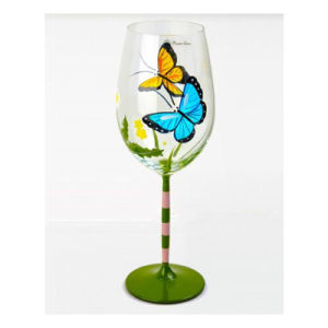 Huashun Custom Glassware Manufacturer Red Glass Cup Wine Glass pictures & photos