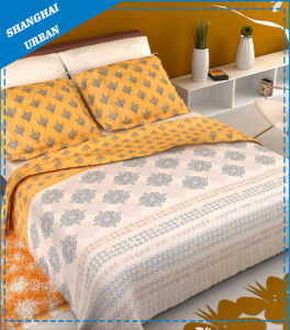 Luxury Polyester Bedding Bed Sheet with Pillowcase pictures & photos