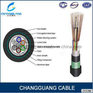 GYTA53 Fiber Optic Cable Arieal Stranded Armored Multi Core Duct Fiber Cable Price Per Meter pictures & photos
