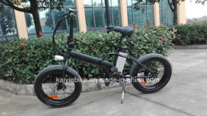20′ 4.0 Folded Fat Tire Snow Electric Bike