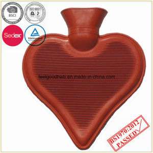Heart Shape Hot Water Bottle pictures & photos