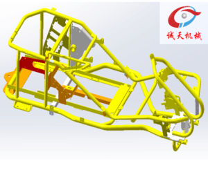 Power Tool Frame ATV Parts with Powder Coating pictures & photos