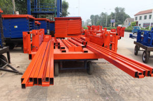 Vertical Chain Lifting Stationary Goods Lift with Elevator Parts pictures & photos