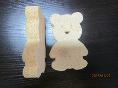 Cartoon Shape Cellulose Sponge, Cleaning Sponge, pictures & photos