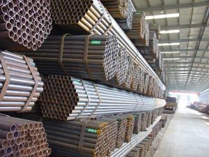 Q195 Round Black Annealed Steel Pipe pictures & photos