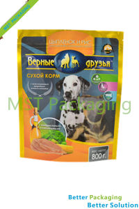 Dog Food Stand up Pouch / Bag with Zip Lock pictures & photos