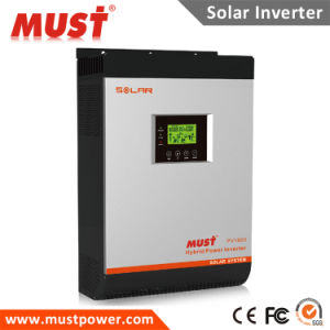 pH1800 Mpk PRO Series 2kVA 3kVA 60A MPPT Solar Charge Controller Hybrid Inverter pictures & photos