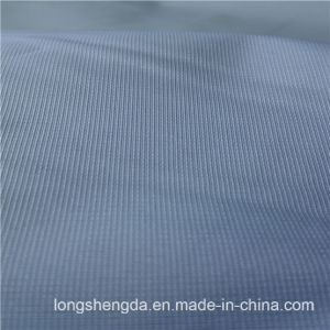 75D 230t Water & Wind-Resistant Anti-Static Sportswear Woven Peach Skin 100% Striped Jacquard Polyester Fabric Grey Fabric Grey Cloth (63030H) pictures & photos