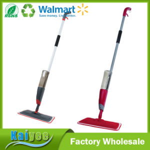 Eco-Friendly Colorful Easy Spray Mop with Microfiber Clothes pictures & photos