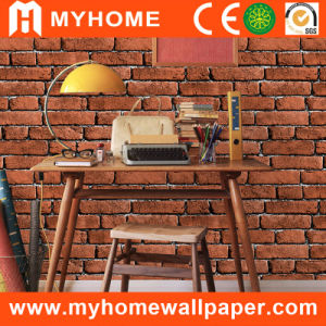 Italy Design 3D Brick Wallpaper with Foaming Design pictures & photos