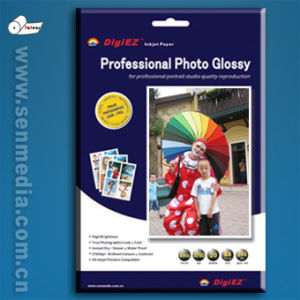 260GSM Letter Size 8.5X11 Inch RC Glossy Inkjet Photo Paper pictures & photos