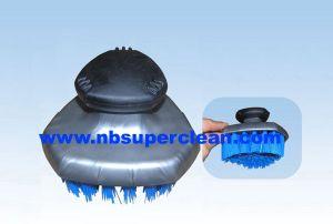 Plastic Car Wheel Cleaning Brush, Car Wash Tire Brush (CN1829) pictures & photos