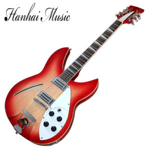Hanhai Music / Cherry Red Ricken Style Electric Guitar (Model360) pictures & photos