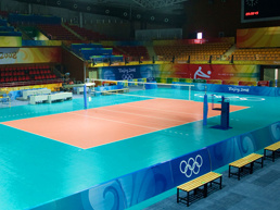 PVC Flooring for Indoor Volleyball, Sports Flooring, 8602 pictures & photos