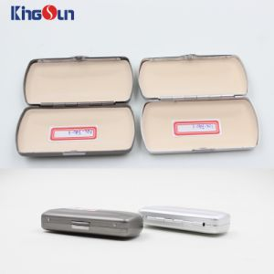 Aluminium Case for Folded Reading Glasses Glasses Cases Kh1029 pictures & photos