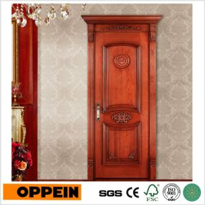 Oppein Luxury Raised Solid Wood Security Door (MSSD05) pictures & photos