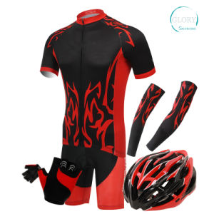 100% Polyester Man′s Cycling Wear pictures & photos