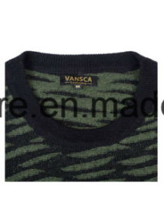 Men′s High Quality Pure Cashmere Knitwear with Patterns pictures & photos