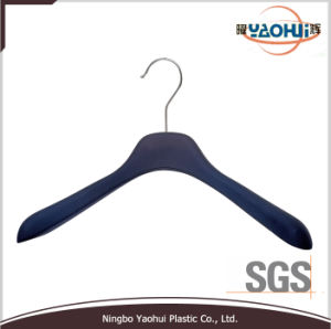 Luxury Suit Hanger with Metal Hook for Suit (35.5cm) pictures & photos