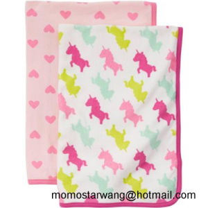 Printing Baby Bath Blanket Swaddle Blanket with High Quality pictures & photos