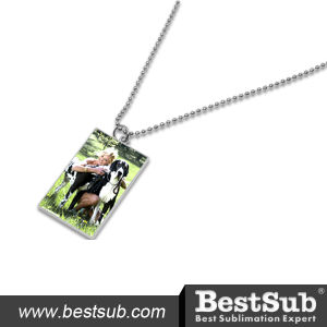 Bestsub Square Metal Sublimation Dog Tag (MDT02) pictures & photos