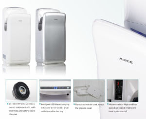 Automatic Jet Infrared Sensor Hand Dryer (AK2006H) pictures & photos