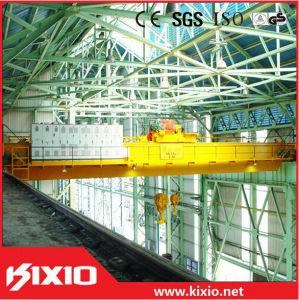 Kixio Double Girder 10 Ton Electric Overhead Crane pictures & photos