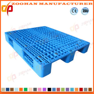 Industrial Heavy Duty Warehouse Grid Plastic Tray Pallet (ZHp24) pictures & photos