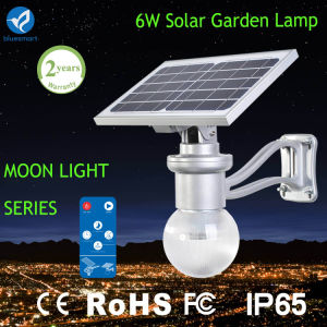 6W Outdoor LED Solar Garden Lighting with Moon Shape pictures & photos