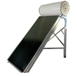 200L Flat Panel Solar Water Heater with Aluminum Alloy Support pictures & photos