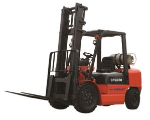 1ton to 3.5ton LPG Gasoline Forklift with Chinese or Japanese Nissan Engine pictures & photos