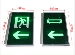 China Supplier LED Flashing Warning Light Pedestrian Sign Tunnel Traffic Safety Sign pictures & photos