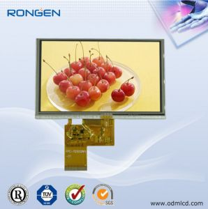 ODM 5 Inch TFT LCD Screen 800*480 Video Interphone LCD Display with Touch Screen pictures & photos