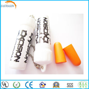 Custom Sleeping PU Foam High Quality Earplugs pictures & photos