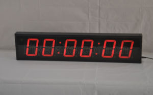 6-Digit LED Digital Count up Clock Timer (FDC-406) pictures & photos