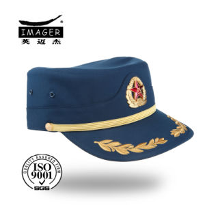 Chinese Army Hat in Blue pictures & photos
