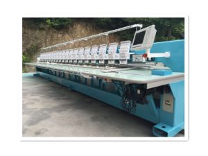 High Quality Computerized Embroidery Machine for Fabric/Curtain pictures & photos