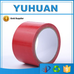 High Quality Red Waterproof Black Cloth Tape pictures & photos