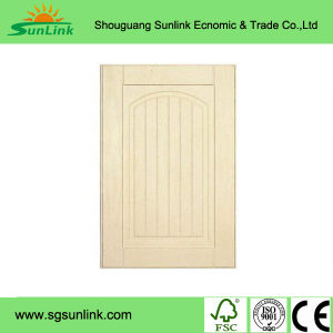Solid Birch Wood Kitchen Cabinet Door for Living House pictures & photos