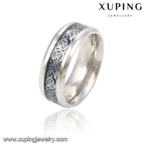 13785 Fashion Cool Silver-Plated Stainless Steel Jewelry Finger Ring for Men pictures & photos
