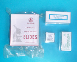 Single Double Goncaves Disposable Thick Microscope Slides (7101, 7102, 7103, 7104, 7105, 7106, 7107) pictures & photos