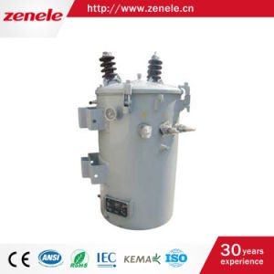 Single Phase Oil-Immersed Pole Mounted Transformers pictures & photos