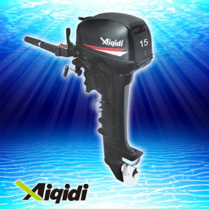15HP Outboard Motor with Air Cooling pictures & photos