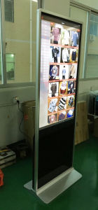 LCD Display Floor Standing 50 Inch Touch Screen Kiosk pictures & photos